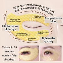 LANBENA 24K Gold Eye Mask Collagen Eye Patches Dark Circle Puffiness Eye Bag Anti-Aging Wrinkle Firming Skin Care 1Pair TSLM1