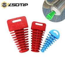 Pipe-Protector Exhaust-Pipe Motorcycle Wash-Plug PVC ZSDTRP 1PC Air-Bleeder-Plug