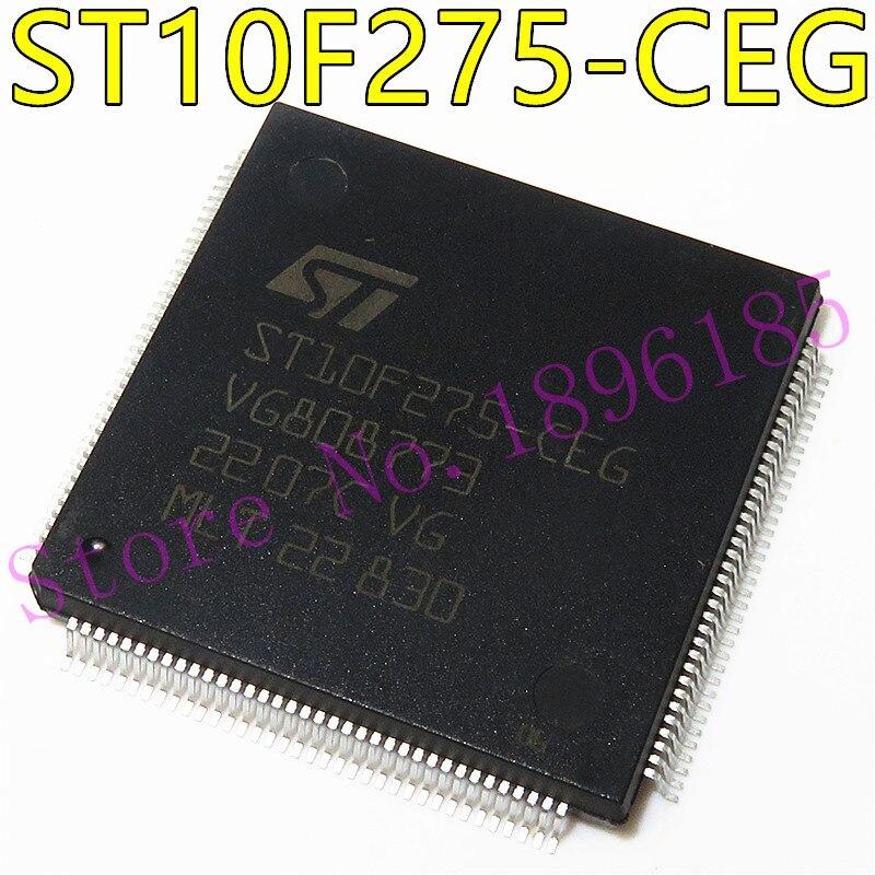 1 יח'\חבילה ST10F275-CEG ST10F275 10F275 TQFP-144 חדש מקורי IC במלאי