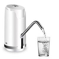 Bomba de água elétrica sem fio engarrafada mini dispensador de água recarregável para garrafas de água potável quantitativa