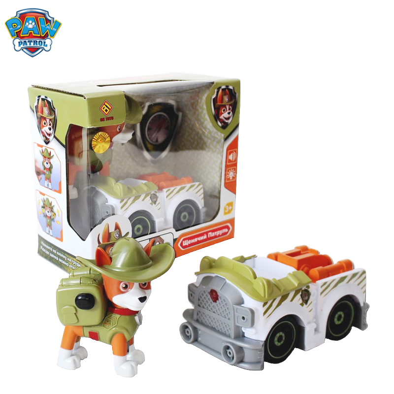 Paw Patrol Toy Set Toy Car Everest Apollo Tracker Ryder Skye Scroll Action Figure Anime Model Children's Toys