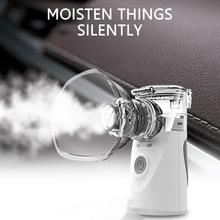 Health Care Steaming Device Handheld Portable Inhale Nebulizer Silent Ultrasonic Inalador Nebulizador Children Adult Automizer mhkbd ultrasonic air nebulizer asthma health care rhinitis nebulizer inhale mistorizer medical equipment nebulizador adult child