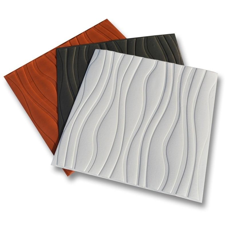 Waterproof Anti-Collision Self-Adhesive Wallpaper 3D Wall Stickers Wall Brick Pattern Bedroom Living Room Decorative