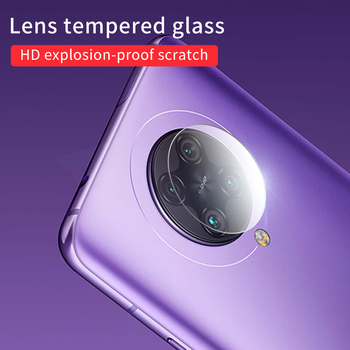 Перейти на Алиэкспресс и купить 3 шт. Защитное стекло для объектива камеры Xiaomi Poco F2 Pro Poco X2 Защитная пленка для объектива Xiaomi Redmi K30 Pro K30 стекло