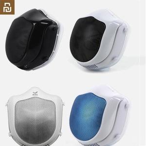 Image 1 - Q5S 전기 안티 헤이즈 살균 마스크 호흡기 PM2.5 호흡 필터 재사용 가능한 입 커버 전기 마스크 공급 공기