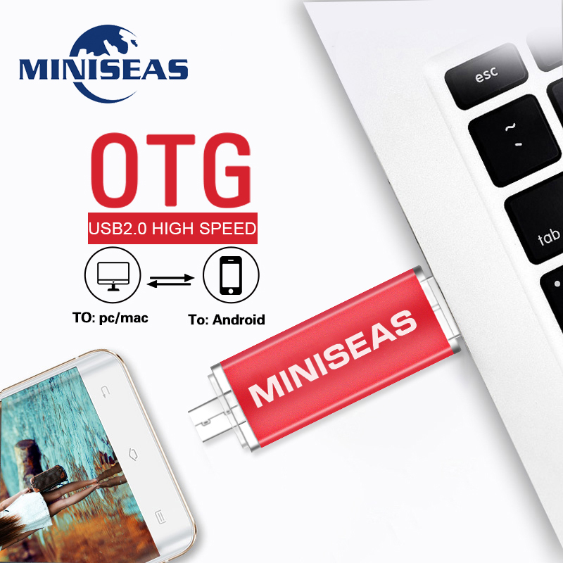 Image 5 - Usb Flash Drive Metal 9 Colors OTG Phone Pen Drive 8GB 4GB Pendrive 64GB 32GB 16GB Memory Usb Stick  Miniseas-in USB Flash Drives from Computer & Office
