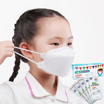 20PCS/BOX Individual Package Kids KN95 Filter Face Mask KN95 Respirator Mask Face KN95 Child Mask Dustproof FAST Delivery