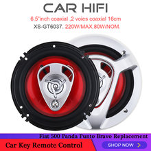2 шт 500 Вт 65 дюймов автомобиля hifi коаксиальный Динамик Авто