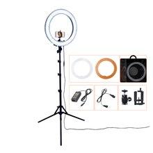 """18 """"240 ชิ้น LED 5500 พันหรี่แสงได้ถ่ายภาพ/สตูดิโอ/โทรศัพท์/วิดีโอ LED Light Light ขาตั้งกล้องสำหรับกล้อง"""