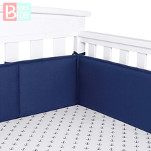 Bumper-Pads Crib-Liner Nursery-Bed Baby Padding Cotton for Standard Washable Thick Safe