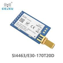 Si4463 170 mhz tcxo 100 mw E30 170T20D 장거리 rf 모듈 모듈 iot uart 직렬 포트 무선 송신기 및 수신기