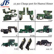 10pcs USB Lade Für Huawei Ehre 5x 5c 6x7x8 9 lite 10 lite V9 10 v20 hinweis 8 hinweis 10 Ladegerät Port Dock Connector Flex Kabel