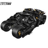 NEW 7111 1969Pcs Super Heroes legoinglys Batman 76023 Chariot The Tumbler Batmobile Batwing Building Blocks Bricks Toys Gifts