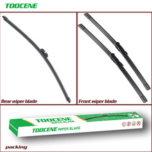 Front And Rear Wiper Blades For Citroen C5 Tourer 2008 Onwards Rubber Windscreen Windshield Wipers Car Accessories 28+22R+10 cheap toocene natural rubber 2009 2010 2011 2012 2013 2014Year 2015Year 0 3kg clean the windshield TC212 Ningbo China