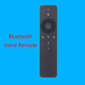 Image 2 - Bluetooth голосовой пульт дистанционного управления, ABS пластик Инфракрасный пульт дистанционного управления для Xiao mi TV Box 14x4x2cm