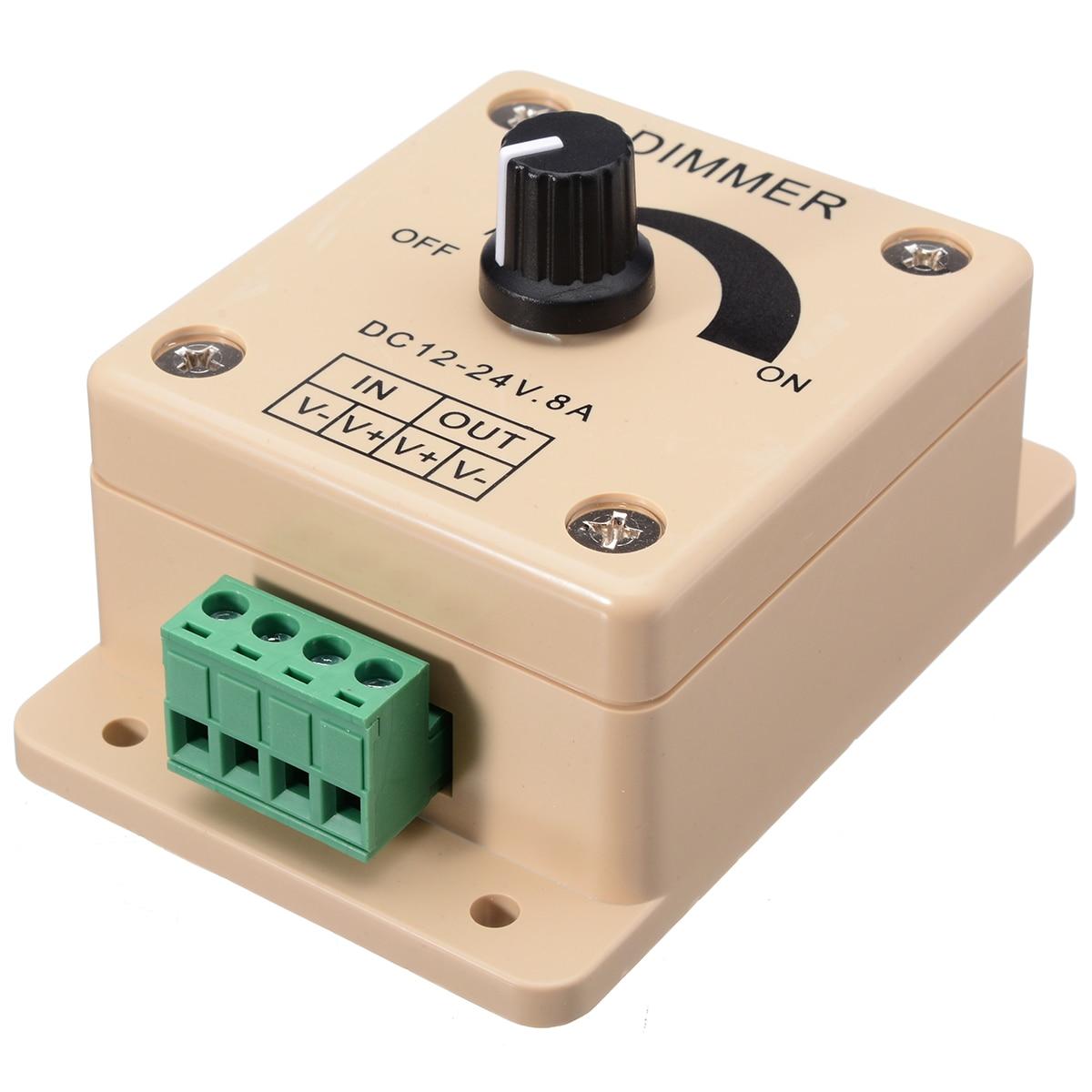 de tira interruptor dimmer brilho controlador fácil