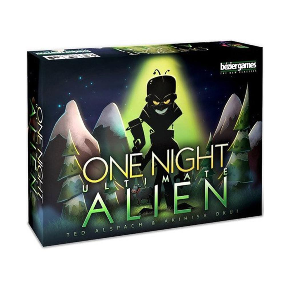 One Night Ultimate Werewolf Alien Board Games Werewolves For Home Party English Version Cards Game For Kids Gifts