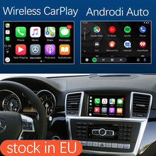 Draadloze Apple Carplay Android Auto Interface Voor Mercedes Benz Ml Gl W166 X166 2012-2015, met Mirrorlink Auto Play Functies(China)