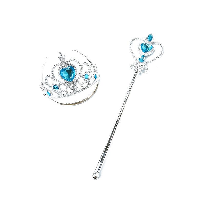 Filles Elsa Anna cadeau sur Cosplay reine des neiges princesse accessoires enfants jouet en fille enfants anniversaire Halloween fête jouet