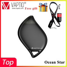 New Stock Vaptio Pod Starter Kit Ocean Star Covered Vape Pen With 850mAh Built-In Battery 1.5ml Capacity System