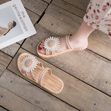 Slipper Wet Water Ins Fashion Flower Wear Female Summer out Daisy