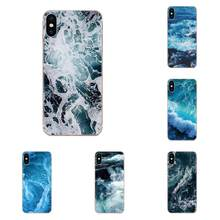 Waves Ocean Water Light Refractions For Huawei P7 P8 P9 P10 P20 P30 Lite Mini Plus Pro Y9 Prime P Smart Z 2018 2019(China)