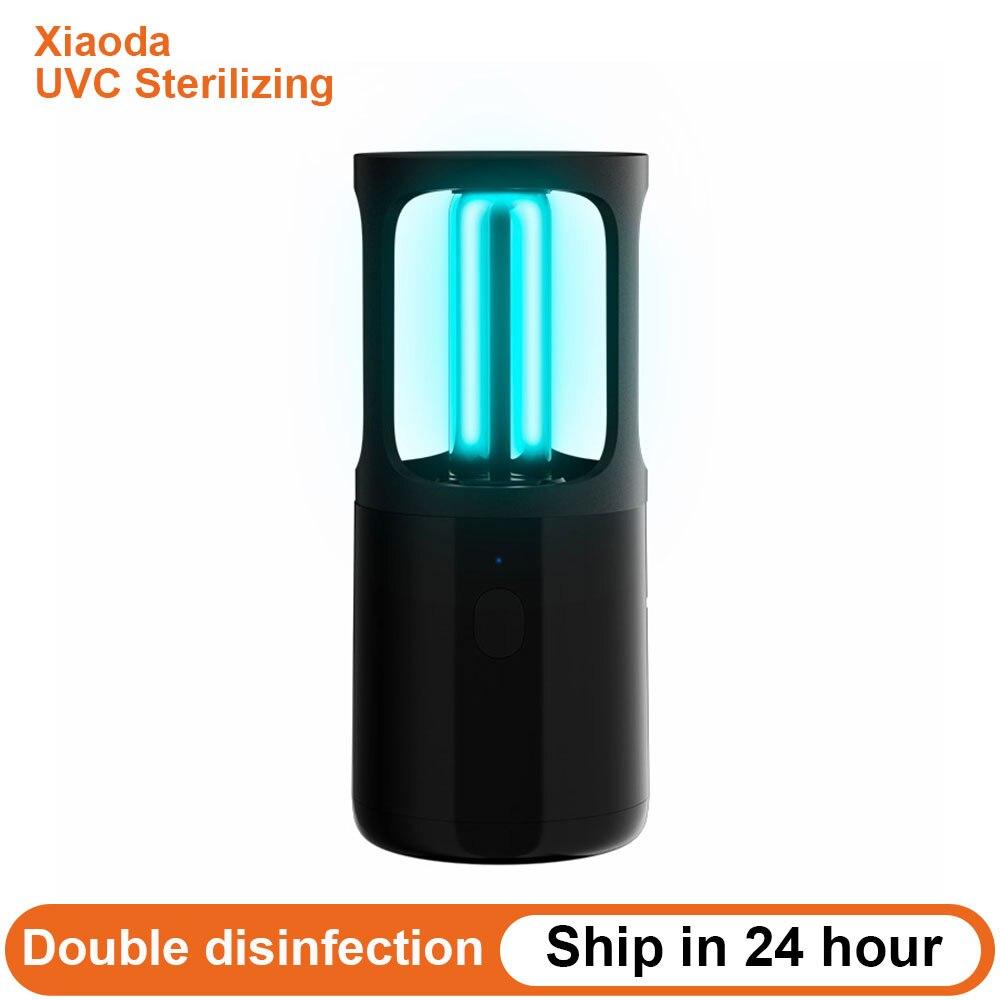 Xiaomi Xiaoda Portable UVC Sterilizing Disinfection Lamp Ozone Sterilization Table Ultraviolet UV Sterilizer Light Tube