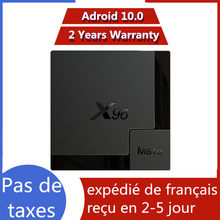 Best iptv box X96 mate 4G 64G Android 10.0 TV Box Allwinner H616 X96mate 4G 32G smart ip tv set top box ship from france