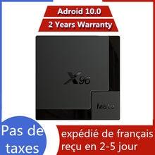 Meilleur iptv box X96 mate 4G 64G Android 10.0 TV Box Allwinner H616 X96mate 4G 32G smart ip tv décodeur navire de france