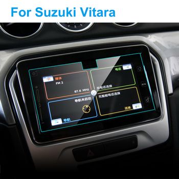 Car GPS Navigation Screen Protector for Suzuki Vitara 2016 Interior Tempered Glass Touch Screen Protective Film Car Accessories image