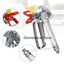 3600 PSI Airless Paint Spray Gun High Press Nozzle With 517 Tip Guard For Sprayer Titan Window Car Cleaning