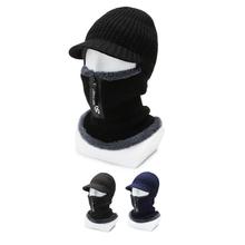 Czapki rowerowe czapki zimowe ciepłe czapki termiczne czapki rowerowe czapki Gorra Ciclismo Windproof Running narciarstwo czapki rowerowe tanie tanio CN (pochodzenie) Akrylowe Zipper-Man Stałe Winter Hats For Men Face Mask 2in1 Hat