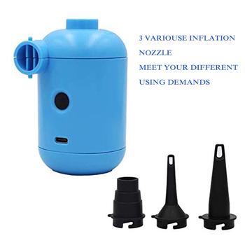 Przenośny USB elektryczna pompa powietrza materac dmuchany łódź Sofa Auto pompa nadmuchiwana powietrza dla samochodów Camping Inflator tanie i dobre opinie Other Elektryczne CN (pochodzenie) Standardowy Wody USB Pump