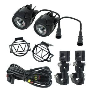 Image 4 - 6500k LED fog light For BMW R1200gs Motorcycle Fog Lamp Driving lamp For BMW R1200GS F800GS F700GS F650 K1600