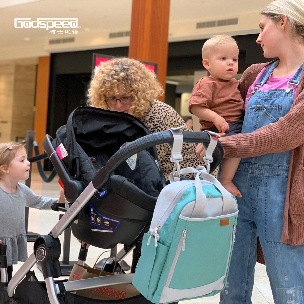 Godspeed2019 New Style Modern And Trendy/women Backpack Diaper Bag Nursing Travel Light Multi-functional Mom And Baby Backpack