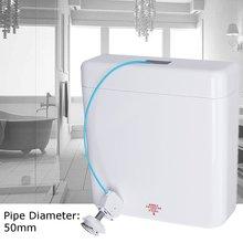 Двойной Флеш сзади к стене ручной скрытый унитаз резервуар для воды для ванной комнаты приспособление резервуар для воды запчасти для туалета отель дом
