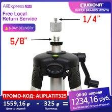 Adaptador para 5/8 rosca de alumínio revestido, vermelho ou verde nivelador digital com 1/4g de peso ou tripé