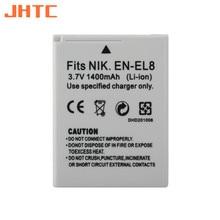 EN-EL8 En EL8 ENEL8 Camera Batterij 1400Mah Voor Nikon Coolpix P1 P2 S1 S2 S3 S5 S50 S51 S52 PM087 Batterijen
