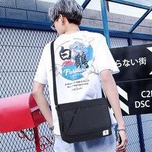 Minimalist Sport Men Shoulder Bag Casual Fashion School Shoulder Bag Large Capacity Bolsos Para Hombre Sling Bag Men DE50NDJ