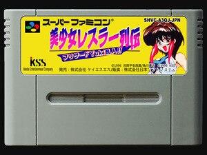 Image 1 - game cards : Bishoujo Wrestler Retsuden ( Japanese NTSC Version!! )