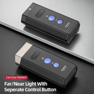 Image 2 - ROCKBROS Bicycle Light IPX 6 Waterproof Bike Flashlight Power 1800 Lumens LED USB Rechargeable Bicycle Handlebar Light Headlight