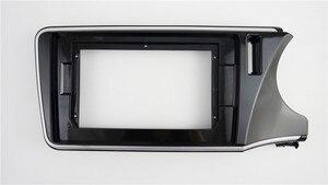 Специальная Автомагнитола 9 дюймов с рамкой, приборная панель для Honda City 2014, головное устройство RHD, автоустановка, стерео
