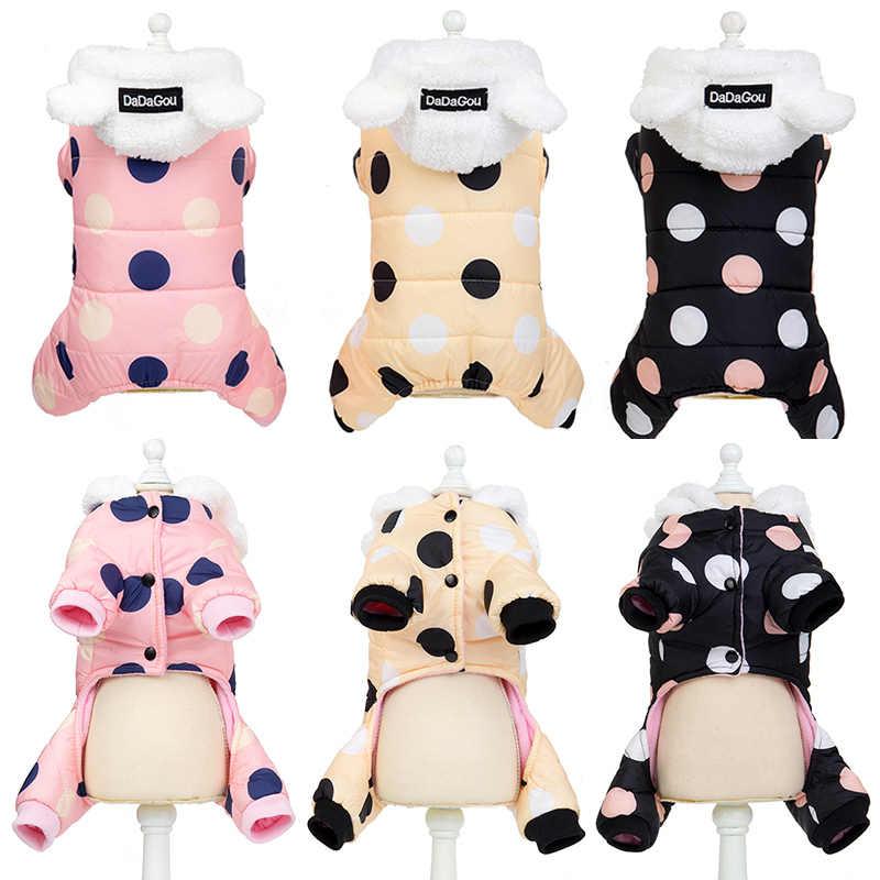 Sıcak Kedi Giysileri Kış Pet Yavru Yavru Ceket Ceket Için Küçük Orta Köpekler Kediler Chihuahua Yorkshire Giyim Kostüm Pembe 45
