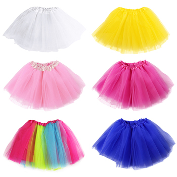 Mother and daughter Skirt Rainbow Tulle Skirt Carnival Petticoat Mesh Mini Tutu Skirts Candy Color Kinderfasching Faschingsparty 6