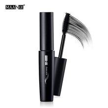 MAANGE Waterproof Black Mascara Natural Long Lasting Volume Curling Eyelash Extension Cosmetic Liquid Hot Sale