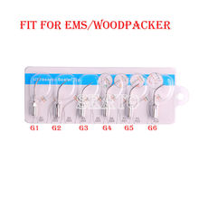 Dental Ultrasonic Scaler Tips G1 G6 Compatible EMS Woodpecker Handpiece  Teeth Whitening Dental Equipment