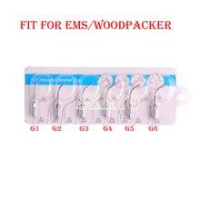 Scaler ultrasónico Dental puntas G1 G6 Compatible EMS pájaro carpintero pieza de mano Blanqueamiento Dental equipo Dental