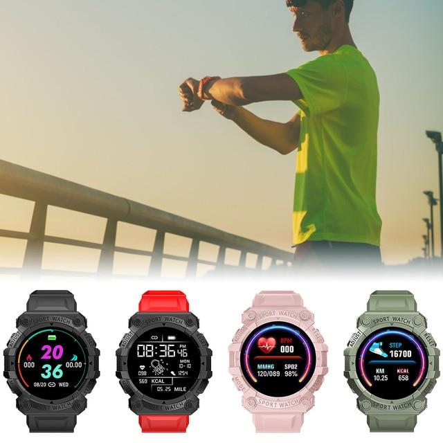 FD68S Smart Bracelet Rechargeable 150mAh Sleeping Sports Watch Pedometer TPU Heart Rate Blood Pressure Detector 5
