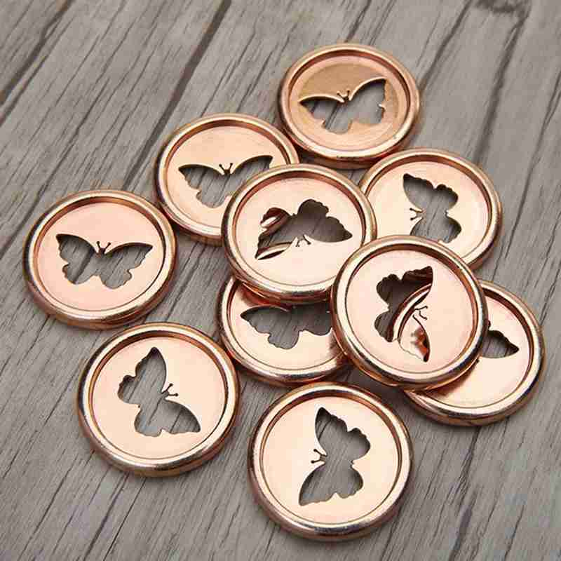 6PCS Notebook Mushroom Hole Button Plastic Accessories Disc Buckle Hand Book Book Binding Discs Loose Button A5 Binder