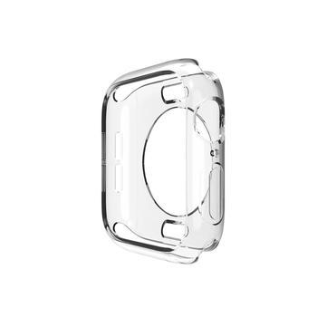 Pokrowiec na zegarek Protector do zegarka Apple 5 4 3 2 1 40mm 44mm silikonowe etui na zarysowania do serii iWatch 42mm 38mm tanie i dobre opinie serilabee Z tworzywa sztucznego CN (pochodzenie) 38MM 40MM 42MM 44MM For watch 12345